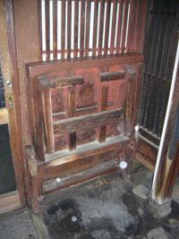 京町家 ばったり床机